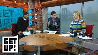 Mike Greenberg has a problem with Dan Gilbert criticizing Victor Oladipo trade | Get Up! | ESPN