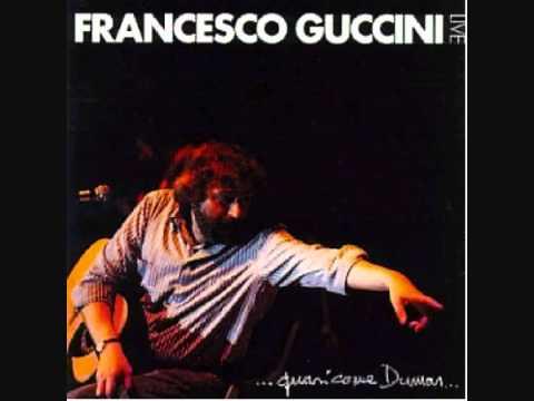 Francesco Guccini - Giorno d'estate (live)