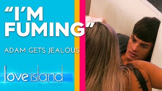 Adam fumes as Cassie and Gerard explore their connection | Love Island Australia 2019