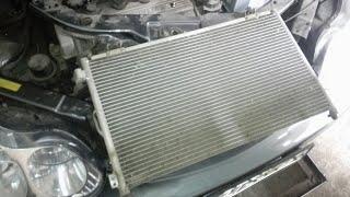 Замена радиатора кондиционера (конденсатора) Geely CK
