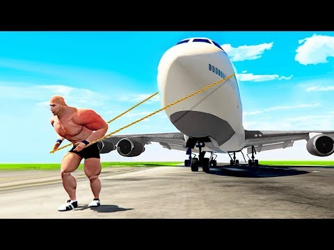 Playing GTA 5 As THE WORLD'S STRONGEST MAN! thumbnail