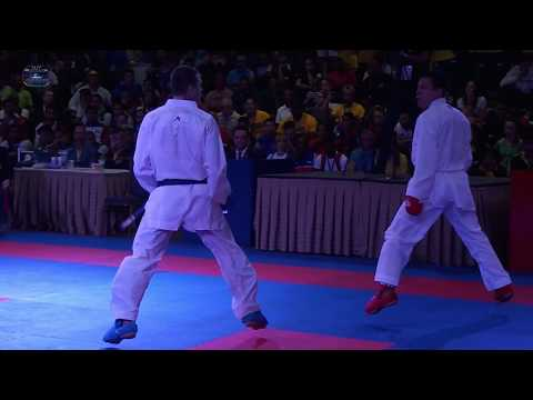 "Highlights Team Kumite ""Man"" Pan American Tournament - Colombia vs Brazil 27 05 2017"