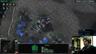 Starcraft Incredible Push 2 - Cannon Rush supported with Tank Marines