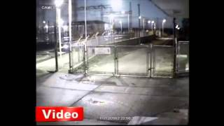 в черное море упал метеорит видео
