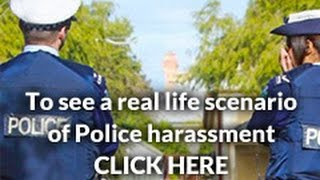Law in Action  - A real life scenario of police harassment and trespass to land (full version)