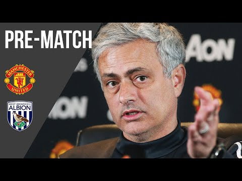 Jose Mourinho Press Conference: Manchester United v West Brom