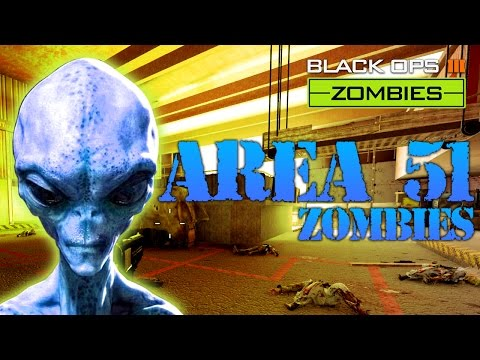 BLACK OPS 3 - AREA 51 ZOMBIES MAP
