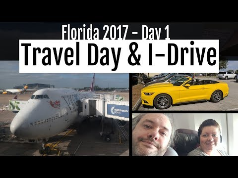 Florida 2017 : Day 1 - Travel Day & International Drive