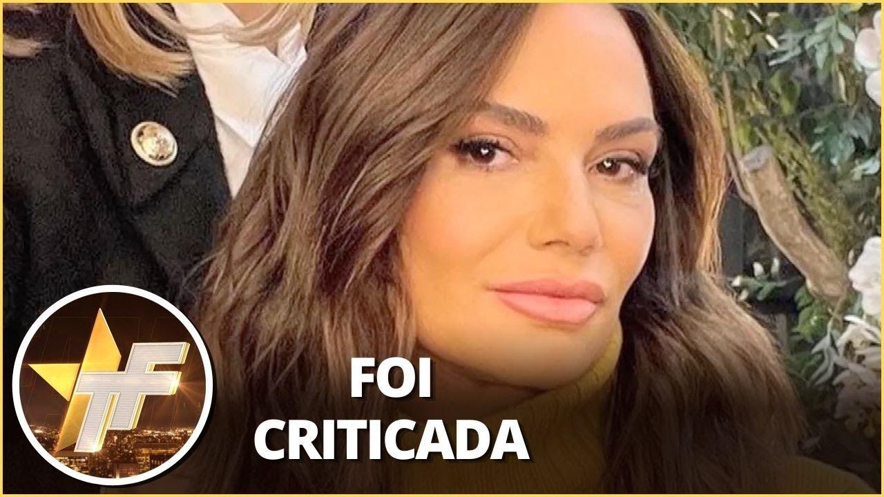 Resposta irônica: Luiza Brunet rebate crítica sobre suposta harmonização facial
