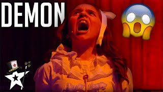 Little Girl Gets Possessed! Judges Are Terrified on Spain's Got Talent | Magicians Got Talent