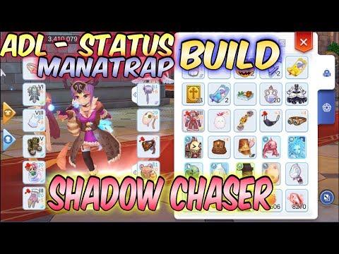 Shadow Chaser ADL/Status-Manatrap Build | Ragnarok Mobile Eternal Love