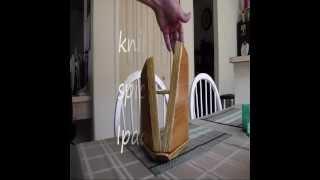 Knife Block/spice Rack/ipad Holder