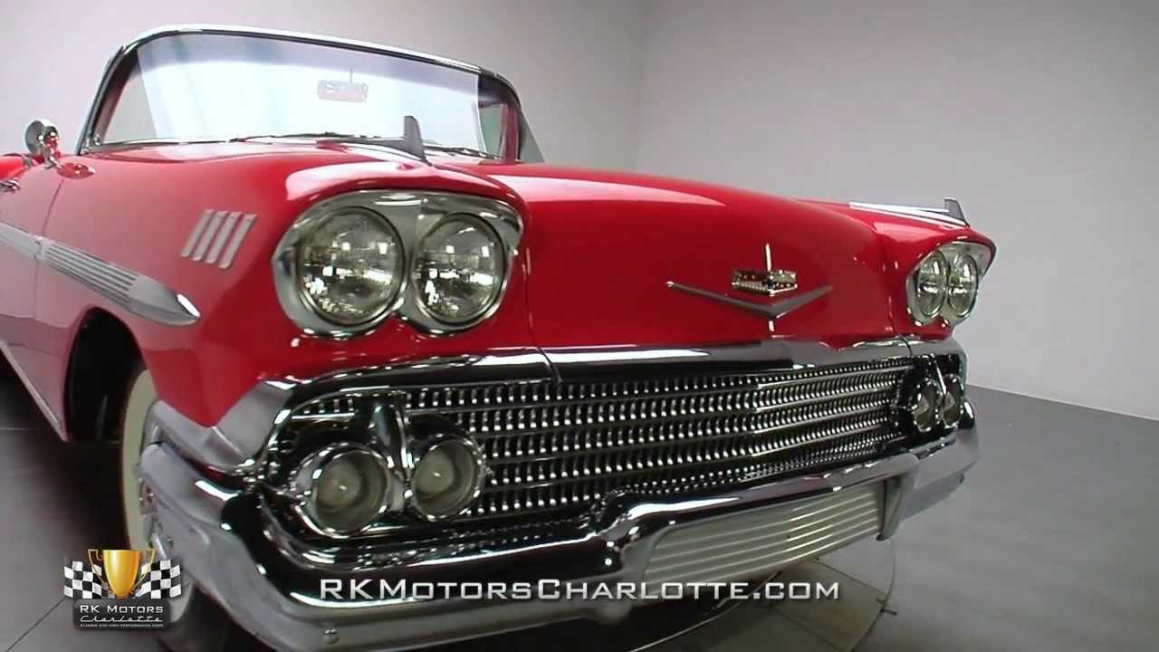 134713 1958 Chevrolet Impala Youtube 1966 Bel Air Radiator