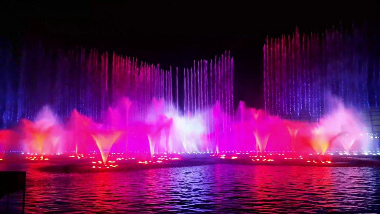 Musical Dancing Fountain. OKADA Manila