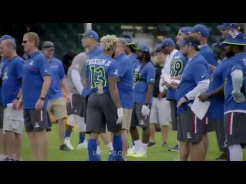 2a9fff400 Odell Beckham Jr. mic d up at the Pro Bowl - YouTube