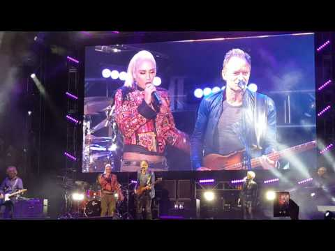STING with Gwen Stefani (JavaOne 2016, Anniversary event)
