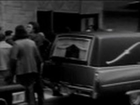 WLS Channel 7  Eyewitness  at 5pm  Coverage of Sam Giancana Funeral 1975