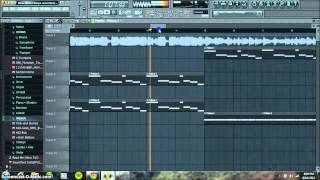 New Slaves Kanye west Remake FLP FL Studio