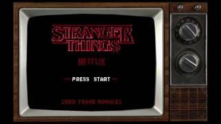 Stranger things 8 bit Nes video game by Frank Morales
