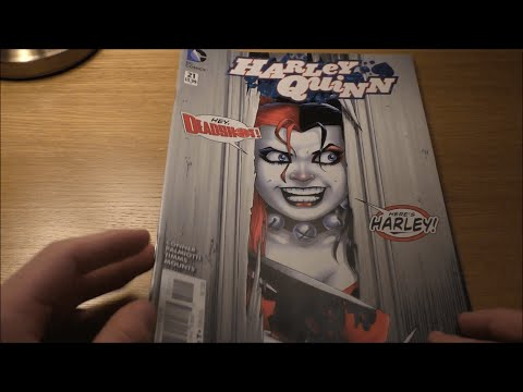 ASMR | Comic Book Haul/Ramble