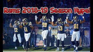 Rams 2018-19 Hype and Pump Up   2017-18 Highlights