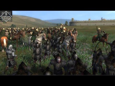 Rohirrim Village Under Siege - Third Age Total War Gameplay