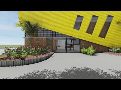 New Skateistan Skate School in Phnom Penh (animation)