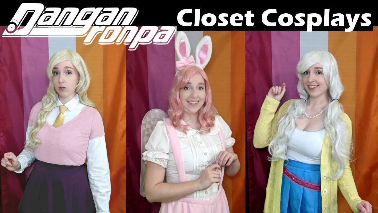 More Danganronpa Closet Cosplays Kaede Angie And More From Dv3 Youtube