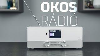 Már a rádió is OKOS! | HAMA DIR3110 Unboxing