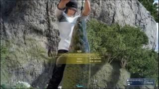 FINAL FANTASY XV_ドラゴンモッドでリーガルピラルクを釣る   RAIN