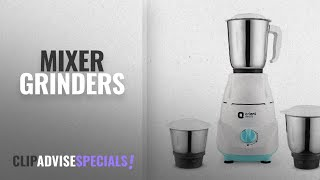 Top 10 Mixer Grinders [2018]: Orient Electric Kitchen Kraft MGKK50B3 500-Watt Mixer Grinder with 3