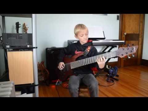 Portrait of Tracy, Gabriel Severn (G7 Bass), Age 9