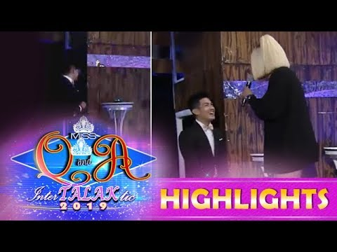 It's Showtime Miss Q and A: Vice catches Kuya Escort Ion talking to someone else
