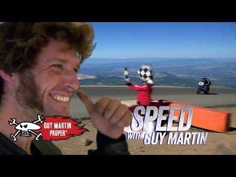Guy's Winning Pikes Peak Hill Climb | Guy Martin Proper
