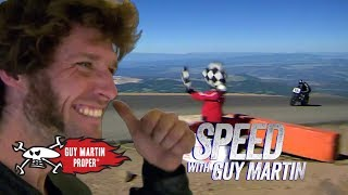 Guy's Winning Pikes Peak Hill Climb | Guy Martin Proper