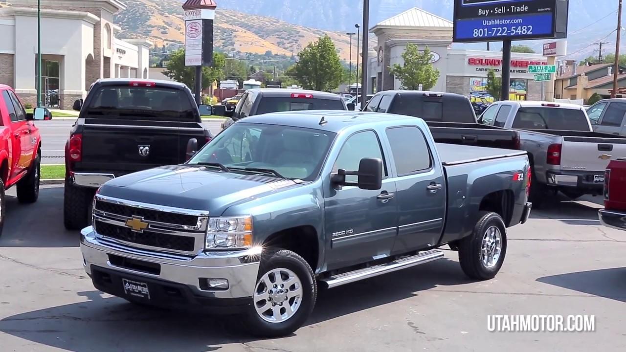 2012 Chevrolet Silverado 2500HD LT Blue 6.6L Duramax   Utah Motor  Company,LLC (801)899 4992