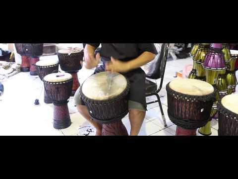 Bali Treasures - Drum Factory - Bali