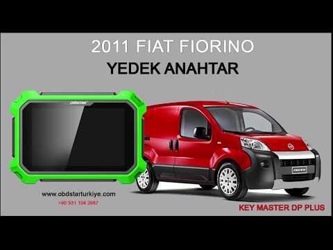 FIAT Fiorino 2011 - YEDEK ANAHTAR - KEY MASTER DP PLUS