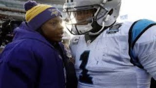 Did Cam Newton Throw Shade At Teddy Bridgewater ?