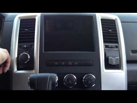 Dodge Ram IPad Dash