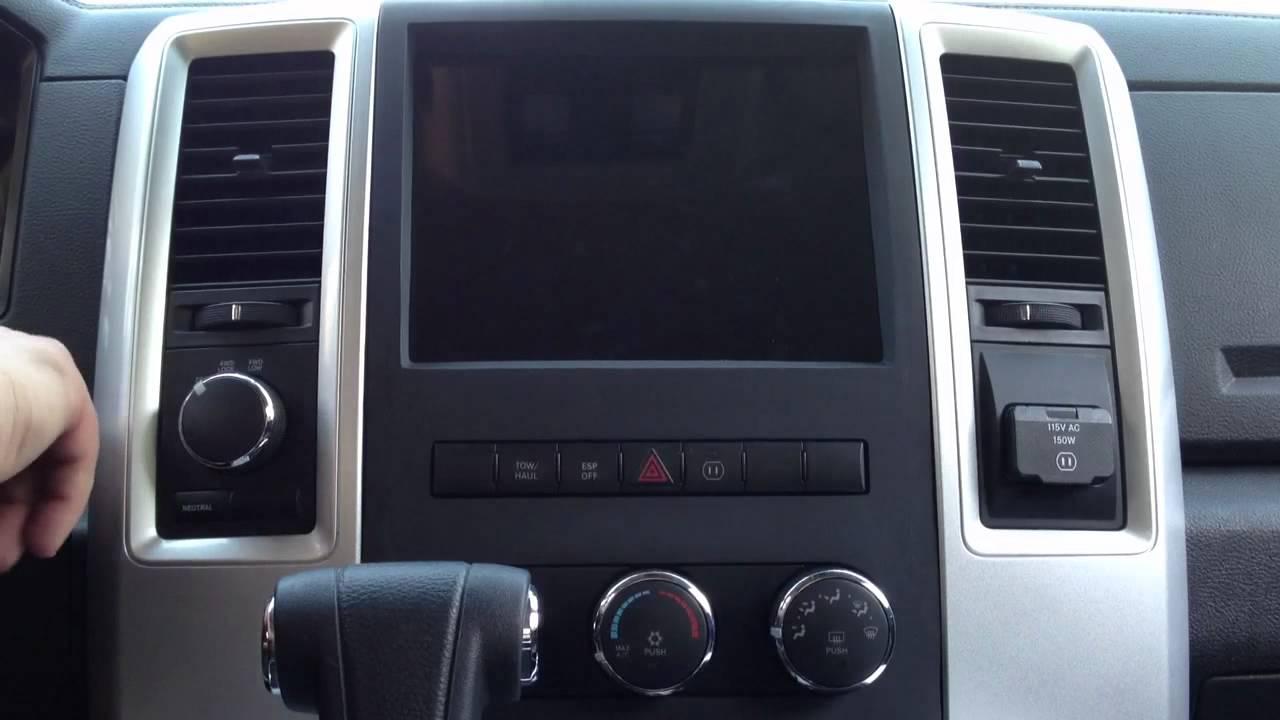 Dodge Ram Ipad Dash Youtube