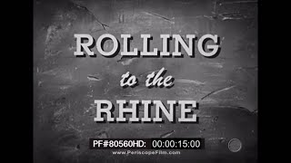 Rolling to the Rhine - Red Ball Express WWII African American Movie 80560 HD