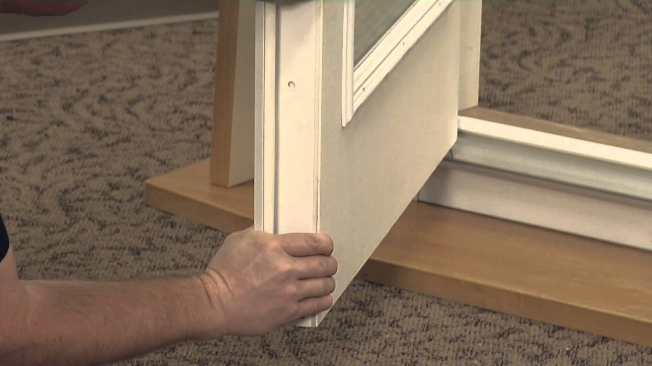 Delightful How To Install The Security Plate On An Exterior French Outswing Door  System   YouTube