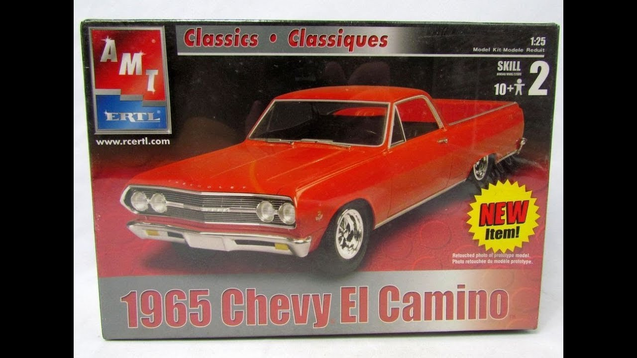 AMT 1965 Chevy El Camino 1/25 Model Kit Complete