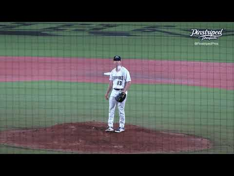 Zach Greene, Right-Handed Pitcher, Hudson Valley Renegades, May 13, 2021