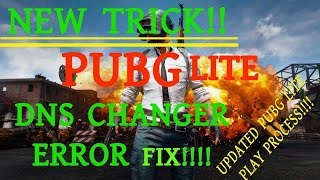 PUBG Lite Error: Region restricted SOLVED (NO ROOT,NO DNS CHANGER)- SSqGaming