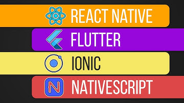 Which one is best for you? Flutter, React Native, Ionic or NativeScript?