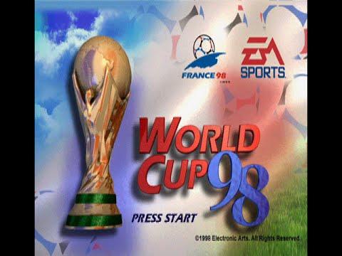 World Cup 98 PS1  Longplay