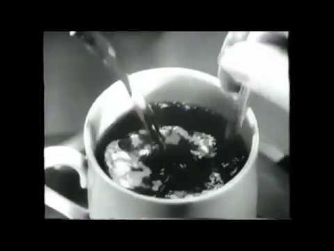 Hypnotic Coffee Commercial 1963