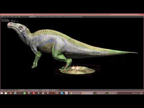 Anatotitan Egg Laying For T. rex World